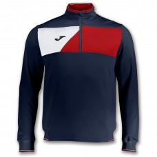 CREW II HZ POLY TOP (NAVY-RED-WHITE)